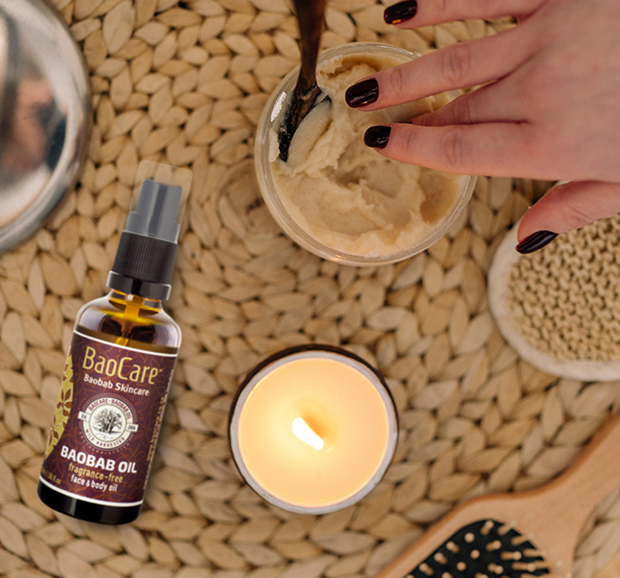Mother's Day Handmade Baobab Body Mousse