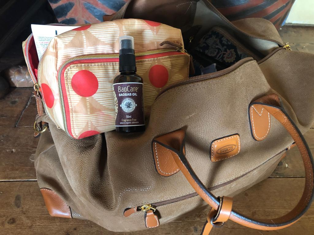 Baobab Oil: A Travelling Girl's Best Friend