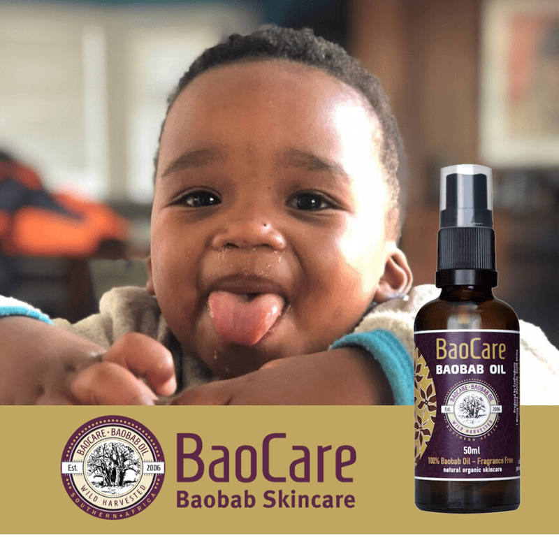 Baobab Oil for Toddler Hair
